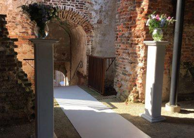 Trouwen op kasteel ruïne Landgoed Bleijenbeek